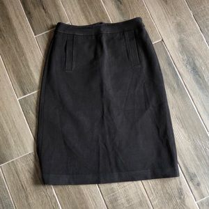 J. Crew brown skirt with pockets